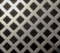 Nevada 10mm Diamond Hole Silver Grille Anodised Aluminium Sheet 2000mm x 1000mm x 1mm